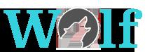 Weblogo groß Wordpress_nur Wolf_Rand
